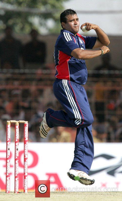 Samit Patel India versus England Cricket Series 2008-09...