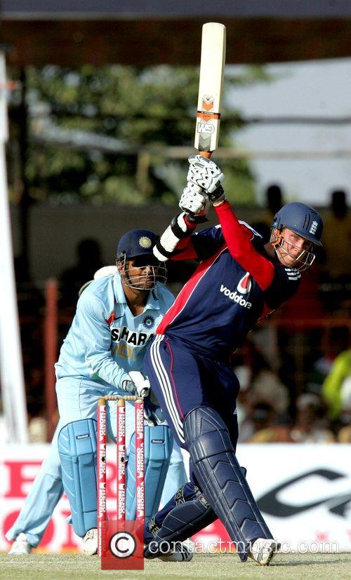 Stuart Broad India versus England Cricket Series 2008-09...