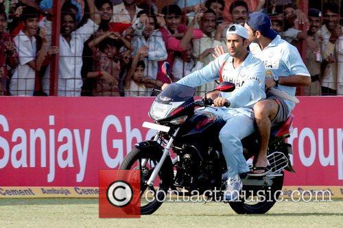 Mahendra Singh Dhoni and Yuvraj Singh India versus...