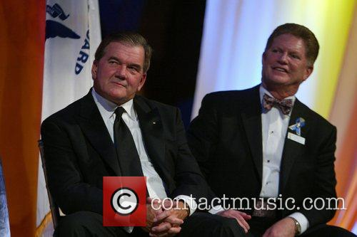 Tom Ridge and Charles Allen Buchanan, Rear Admiral,...