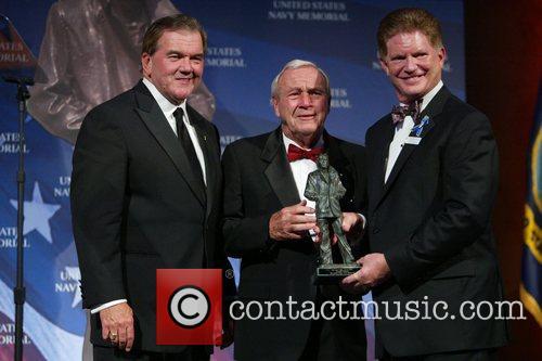 Tom Ridge, Arnold Palmer and Charles Allen Buchanan,...