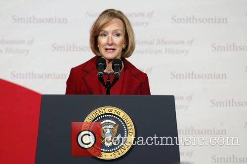 Judy Woodruff President George W. Bush attends the...