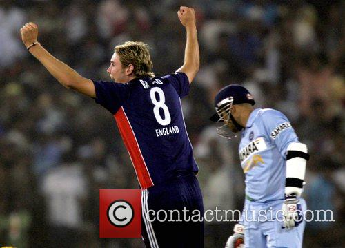 Stuart Broad 5th ODI England against India cricket...