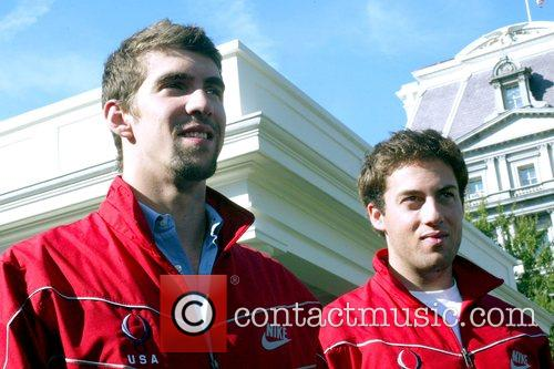 US Olympians address the media after remarks made...