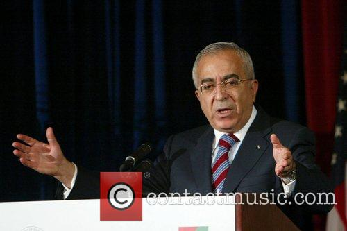 Prime Minister of the Palestinian National Authority Salam...