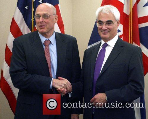 US Secretary of the Treasury Henry Paulson and...