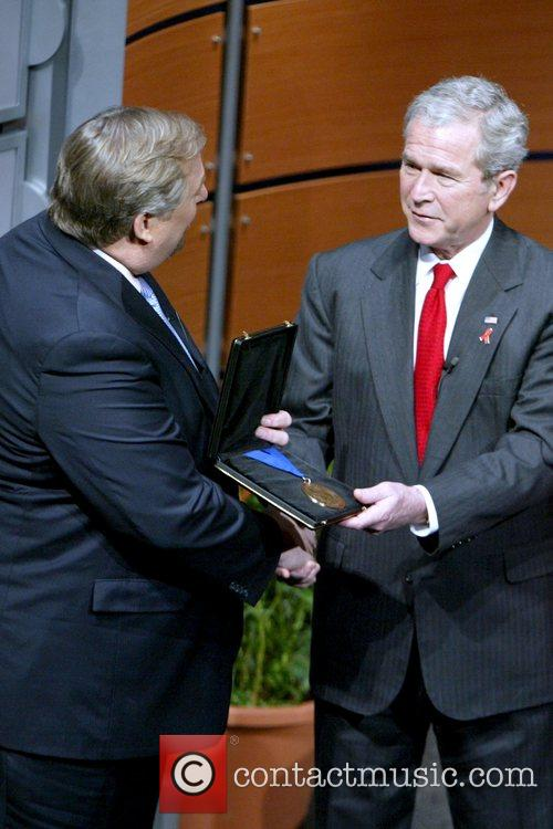 Pastor Rick Warren and President George W. Bush...