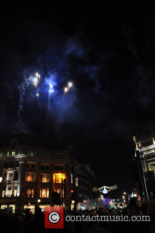 Fireworks Oxford Street and Regent Street were closed...