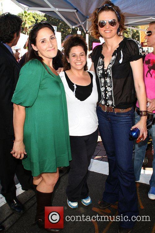 Ricky Lake, Marissa Jaret Winokur and Lucy Lawless...