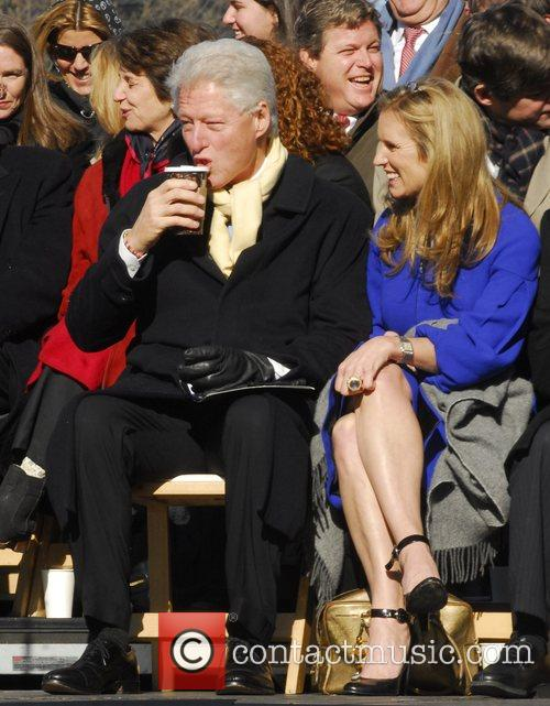 Bill Clinton and Kerry Kennedy