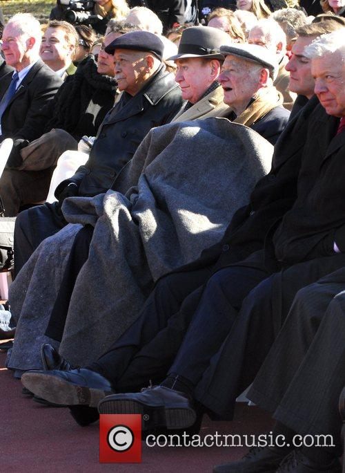 David Dinkins and Ed Koch A ceremony attended...