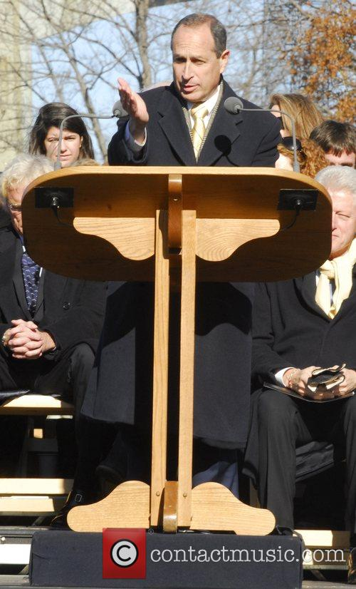 A ceremony attended by Robert F. Kennedy's widow...