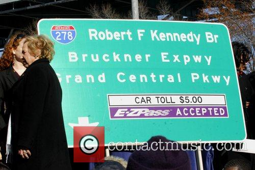 Ethel Kennedy and other notables and Kennedy family...