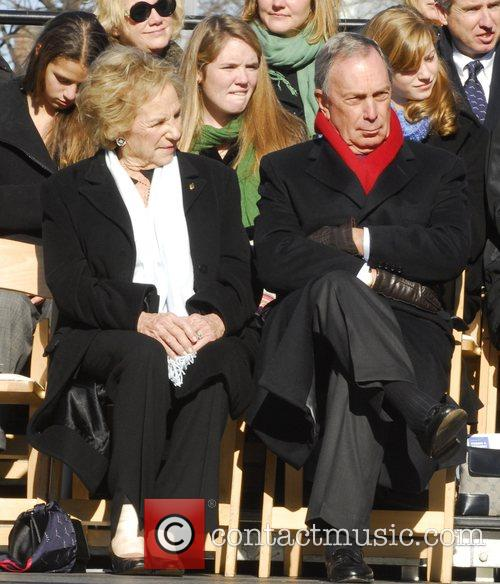 Ethel Kennedy and New York City Mayor Mike...