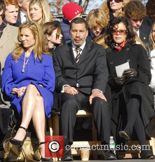 Kerry Kennedy and New York Governor David Paterson...