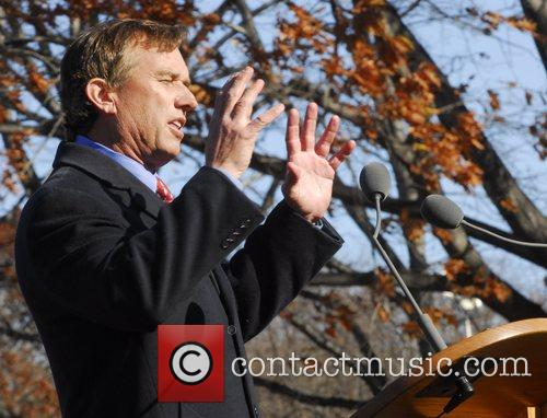 Robert F. Kennedy Jr. A ceremony attended by...