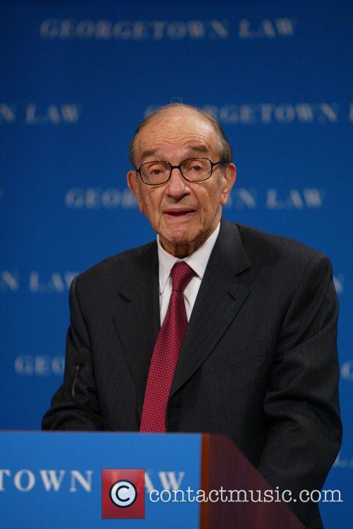 Former Federal Reserve chairman Alan Greenspan Annual conference...