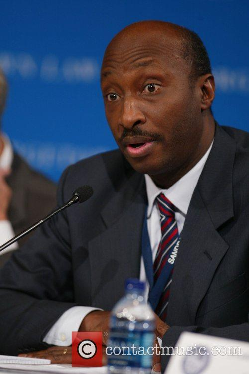 Kenneth C. Frazier, executive vice president and president,...