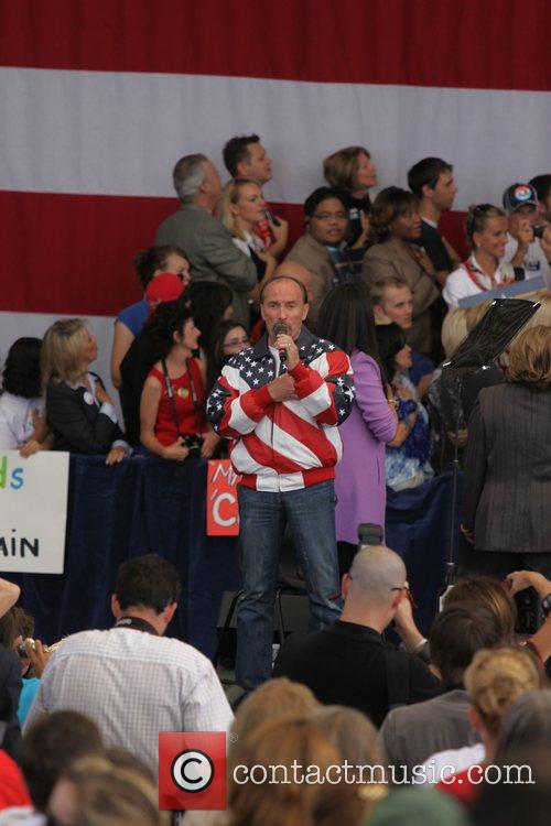 Lee Greenwood Republican Vice Presidential candidate Sarah Palin...