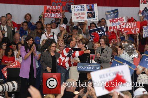 Sarah Palin and Lee Greenwood
