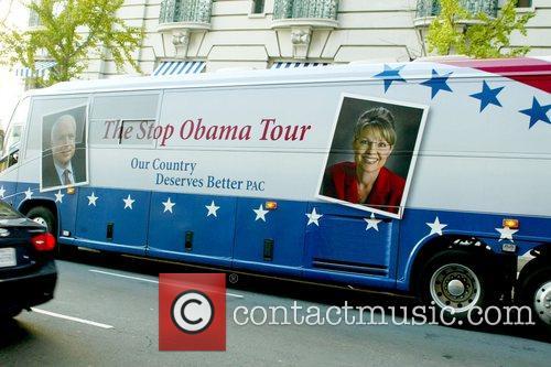 Stop Obama Tour bus Stop Obama Tour held...