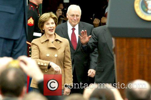 Laura Bush, Barack Obama and White House 9