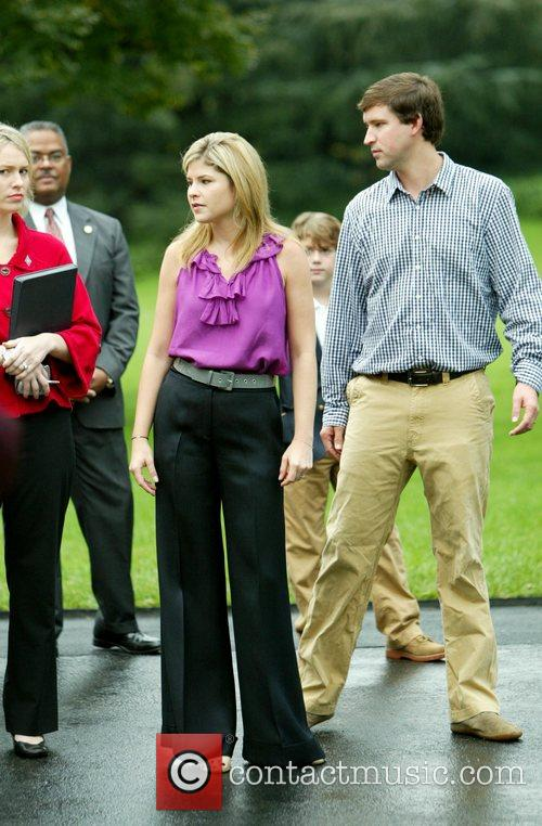 Jenna Bush Hager and her husband, Henry Hager...