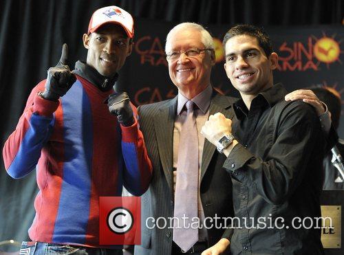 Celestino Caballero (L), Allan Tremblay (M), and Steve...