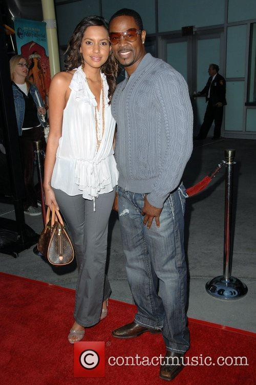 Darrin Henson and guest Screening Of Summit Entertainment's...