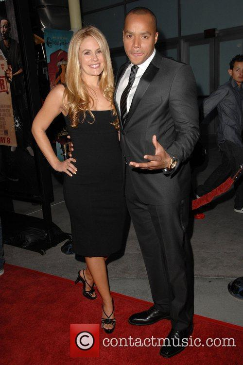 Donald Faison and guest Screening Of Summit Entertainment's...