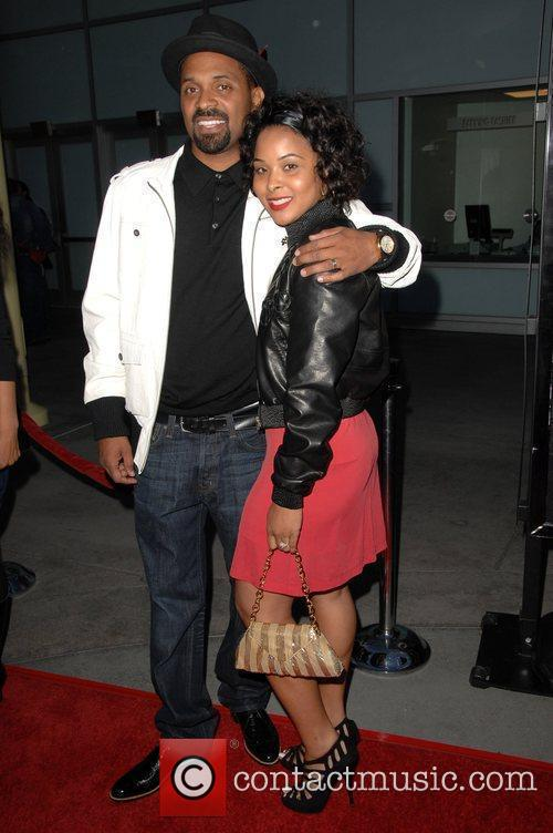Mike Epps, & wife Michelle McCain Screening Of...