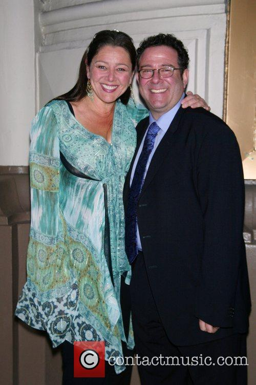 Camryn Manheim and director Michael Greif Opening Night...