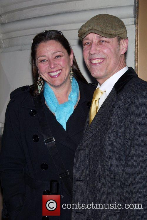 Camryn Manheim and good friend Kevin Geer Opening...