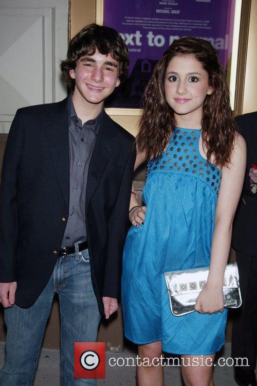 Aaron Simon Gross and Ariana Grande Opening Night...