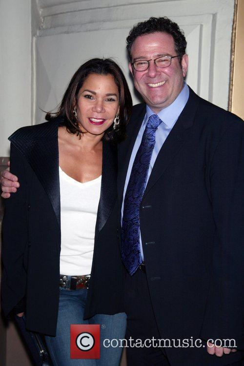 Daphne Rubin-Vega and director Michael Greif Opening Night...
