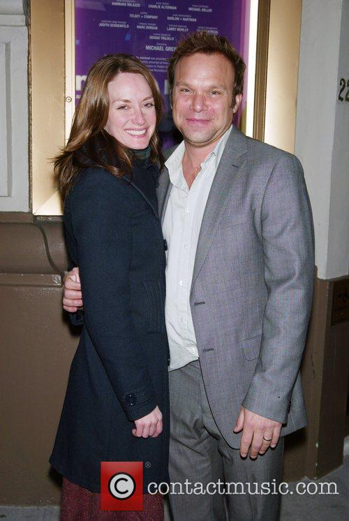 Michelle Federer and her husband Norbert Leo Butz...