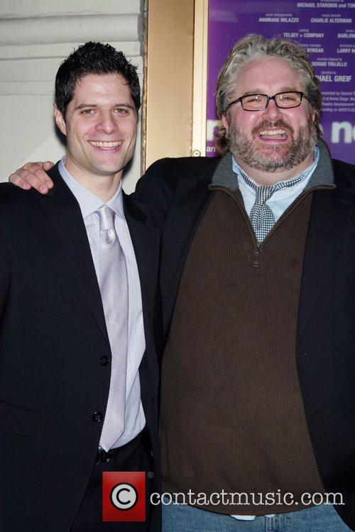 Tom Kitt and Brian Yorkey Opening Night of...