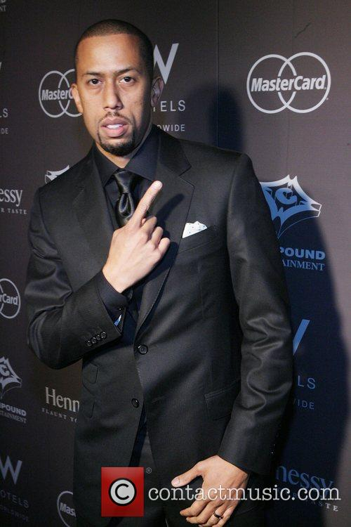 Affion Crockett Ne-Yo's 29th birthday party, sponsored by...