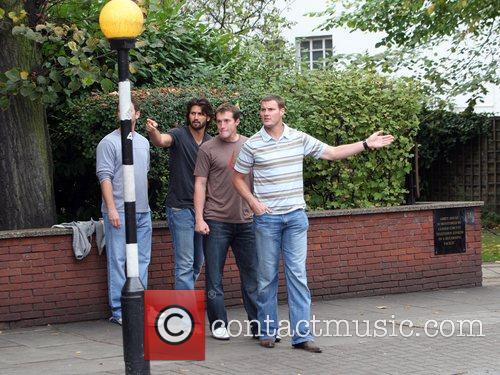Nfl Stars Visit Abbey Road Studios London 9