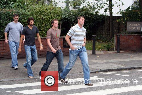 Nfl Stars Visit Abbey Road Studios London 2