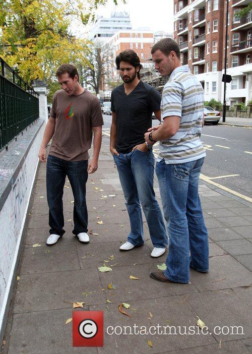 Nfl Stars Visit Abbey Road Studios London 7