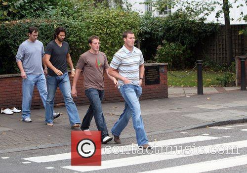 Nfl Stars Visit Abbey Road Studios London 4