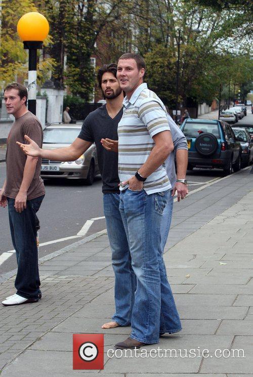 Nfl Stars Visit Abbey Road Studios London 5