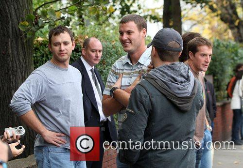 Nfl Stars Visit Abbey Road Studios London 11