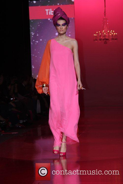 Model Mercedes-Benz IMG New York Fashion Week Fall...