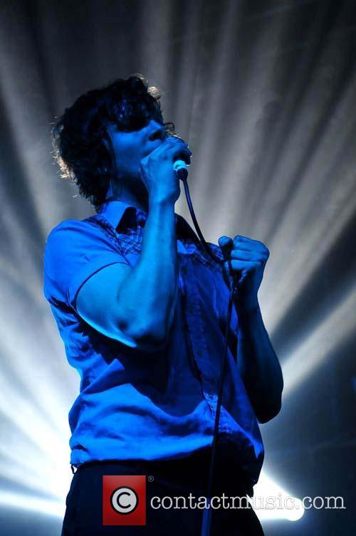 Friendly Fires performing live at Leeds Academy, May...