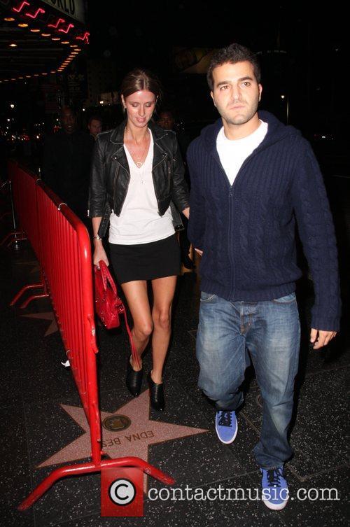 Nicky Hilton and boyfriend David Katzenberg leaving Music...