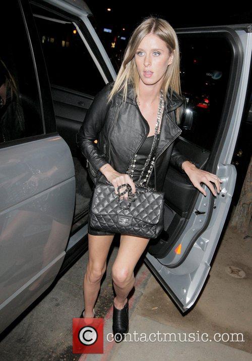 Nicky Hilton arriving at Dan Tana restaurant Los...
