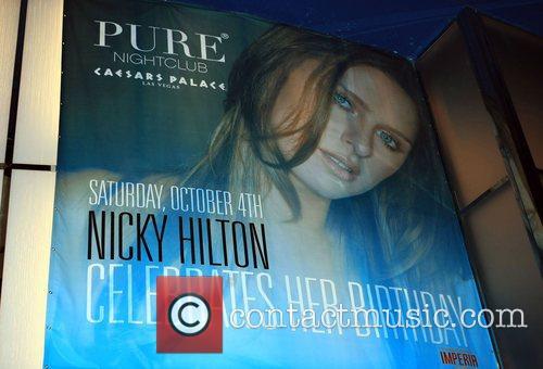 Atmosphere Nicky Hilton's birthday at Pure nightclub in...