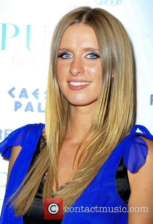 Nicky Hilton arrives for her birthday party at...